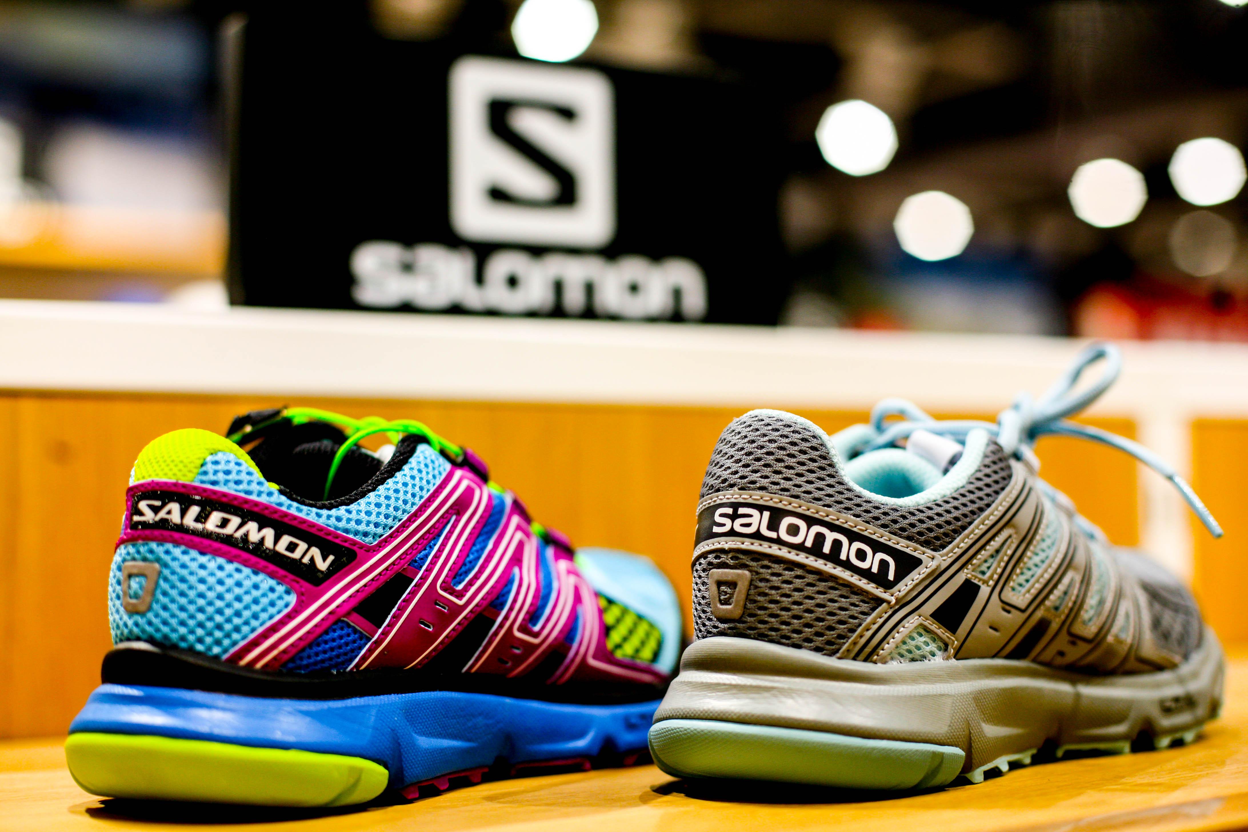 кроссовки salomon